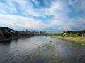 京都鸭川的傍晚
