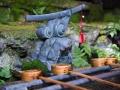 京都伏见稻荷大社的洗手池